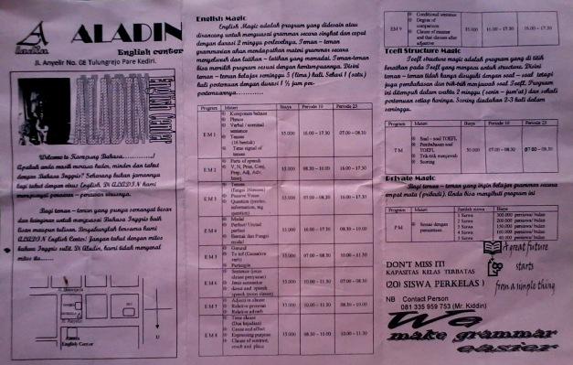 ALADIN course