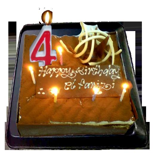 Kue untuk Elfarizi