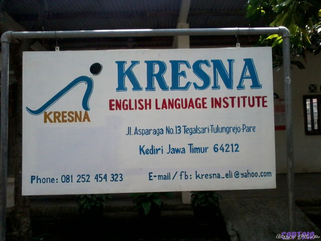 Kresna english language