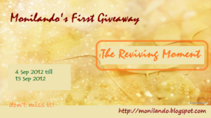 Monilando's First Giveaway