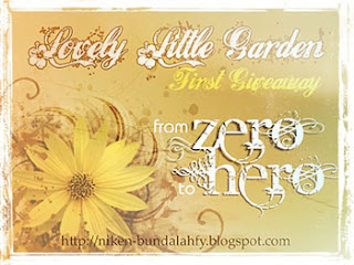 Lovely Little Garden's First Give Away