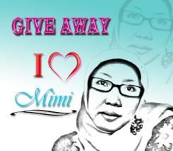Giveaway Mimi I Love You